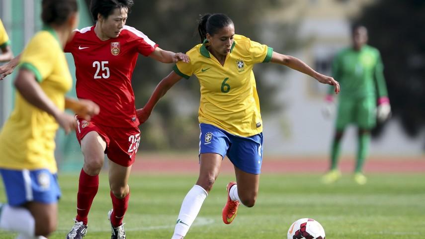 Andressa Alves, una brasileña en la Primera División Femenina