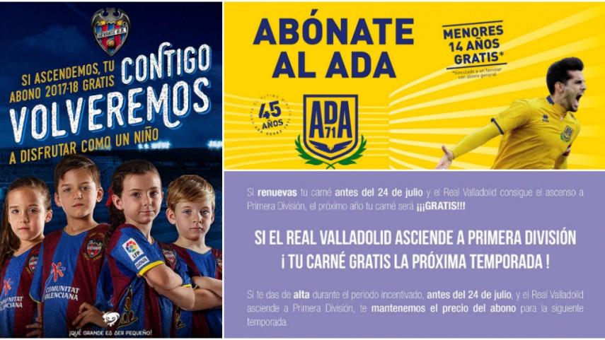 Los clubes de LaLiga premian la fidelidad en sus campañas de abonados
