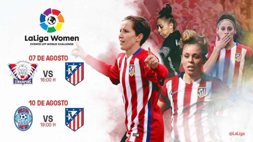 El Club Atlético de Madrid Femenino estrena LaLiga Women