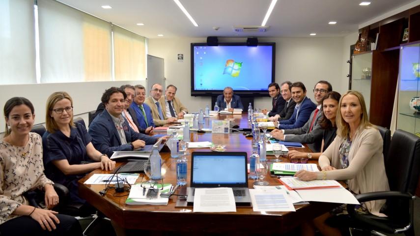 La Fundación del Fútbol Profesional celebró su Junta General Ordinaria