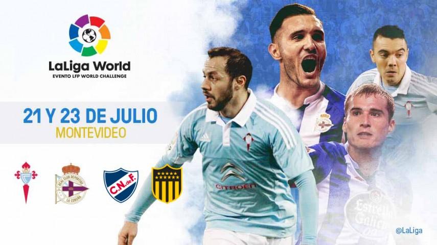 RC Deportivo y RC Celta se embarcan juntos en LaLiga World