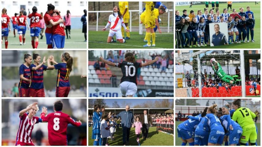 Elige la foto de la temporada en la Primera División Femenina