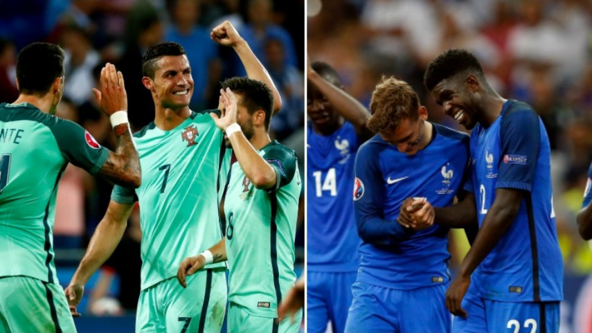 Portugal y Francia, en busca de la corona europea