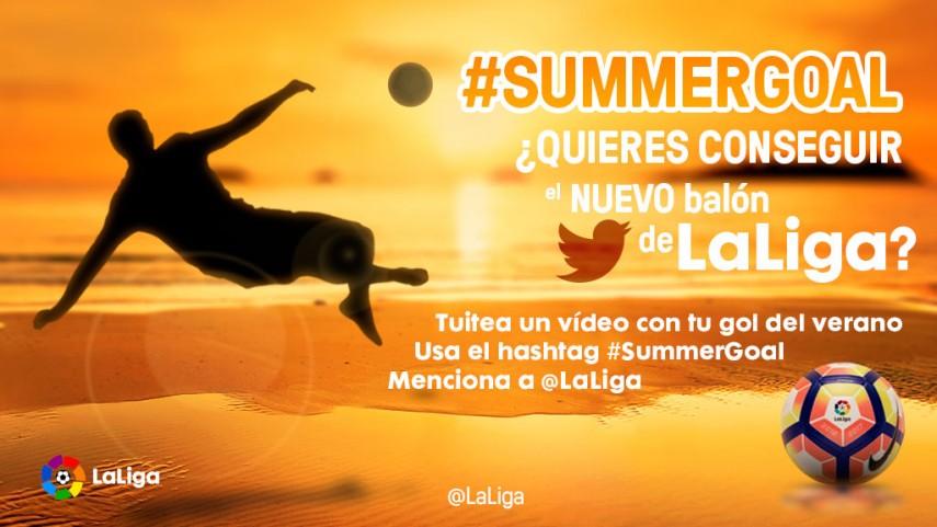 Marca el gol más espectacular de este verano con #SummerGoal