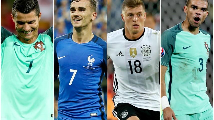 LaLiga domina el once ideal de la UEFA EURO 2016