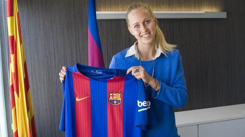 Line Røddik, la estrella danesa aterriza en el FC Barcelona