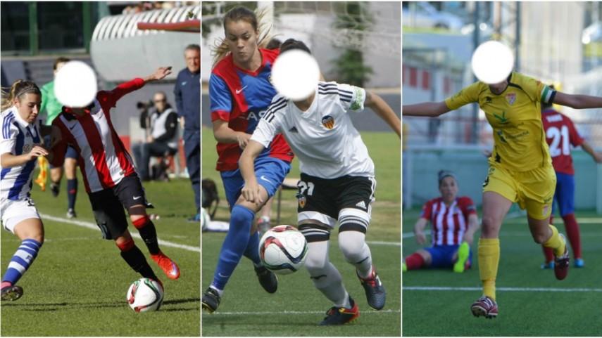 ¿Serías capaz de reconocer a estas jugadoras de la Primera División Femenina?