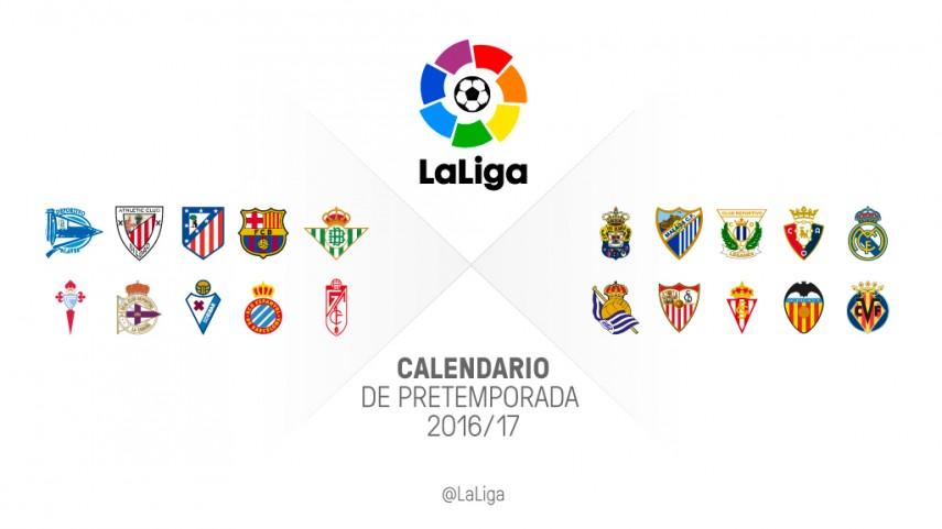 Comienza la pretemporada 2016/17 para los clubes de LaLiga
