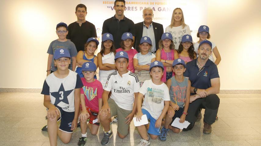La Fundación de LaLiga presenta el proyecto 'Valores para ganar'