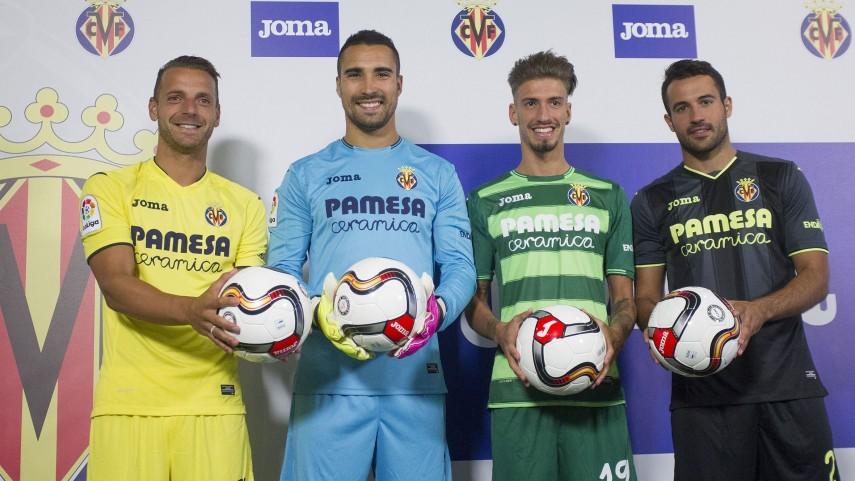 El Villarreal prepara a su afición para Europa con su nueva camiseta interactiva