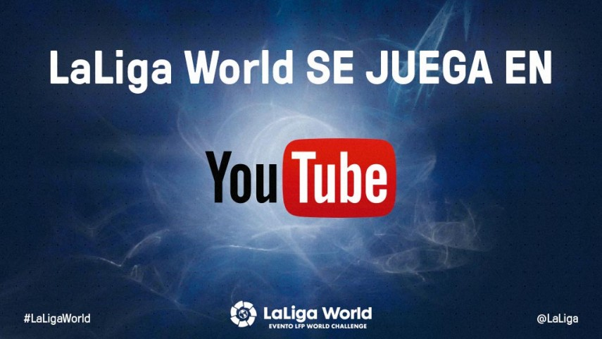 LaLiga World se ve en YouTube