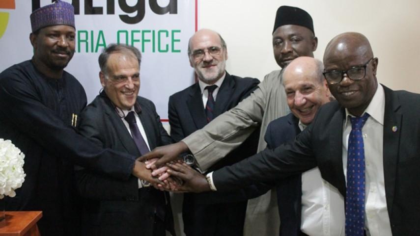 LaLiga inaugura su oficina en Nigeria