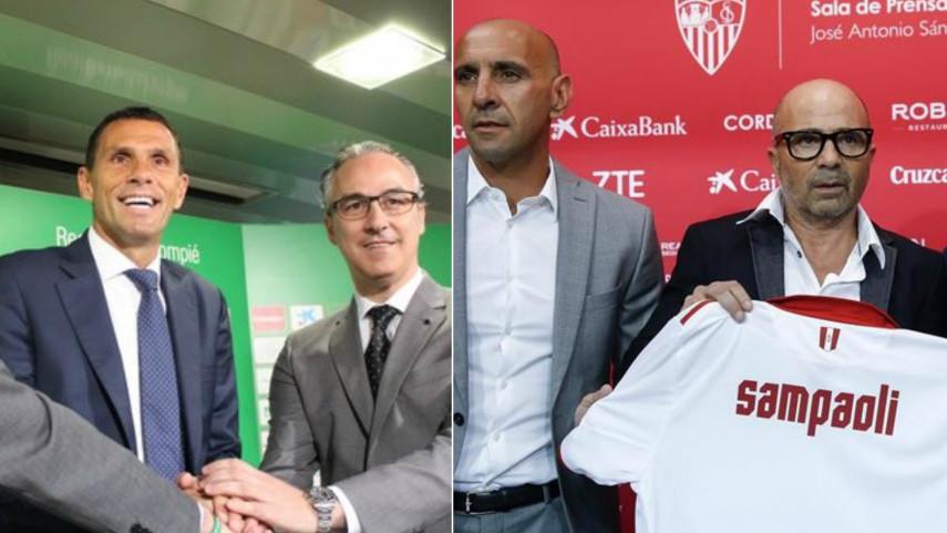Talento sudamericano para los banquillos de Sevilla