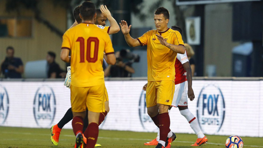 Nuevo triunfo del Sevilla en la pretemporada