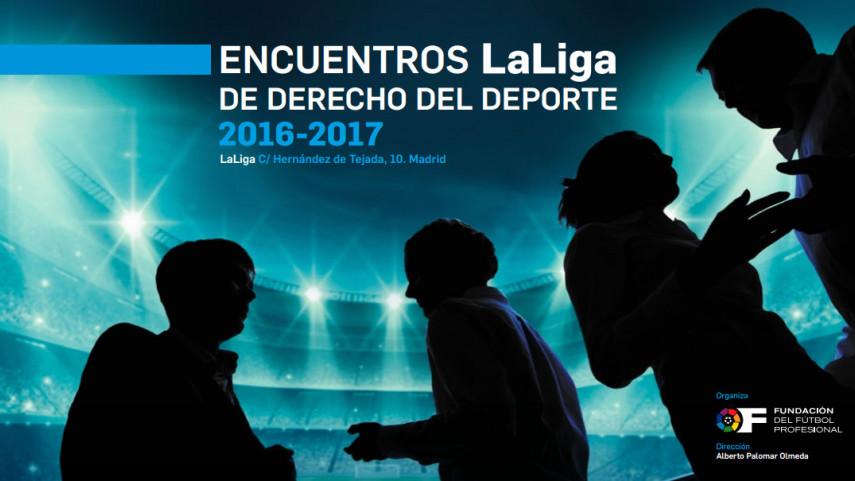 Abierto el plazo de inscripción para los encuentros LaLiga de Derecho del Deporte