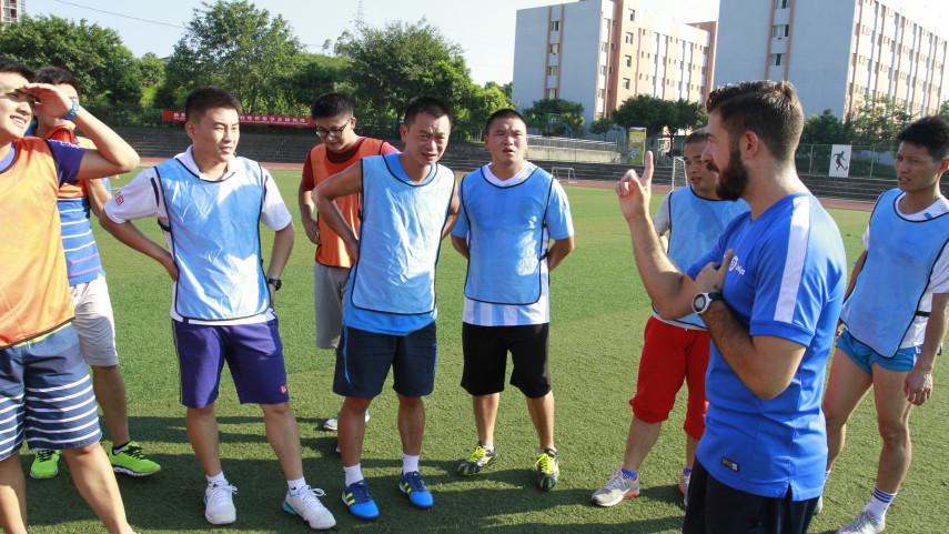 LaLiga continúa con su programa de formación de  entrenadores escolares en China