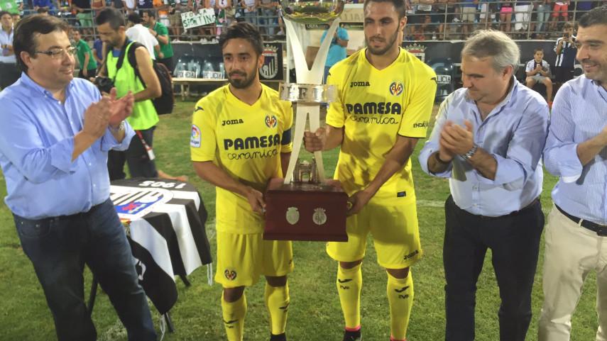 El Villarreal CF, campeón del Trofeo Ibérico