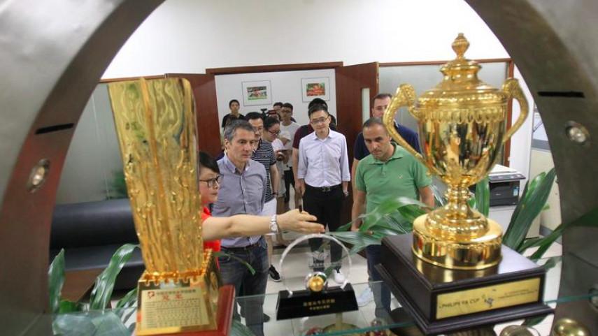 El Granada CF potencia su marca en China y el mercado asiático de la mano de LaLiga