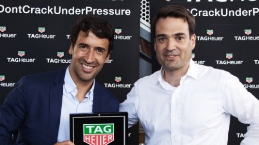 Raúl y TAG Heuer, juntos en el All-Star Game de la Major League Soccer
