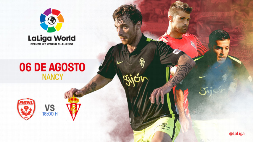 Francia acoge el estreno del R. Sporting en LaLiga World