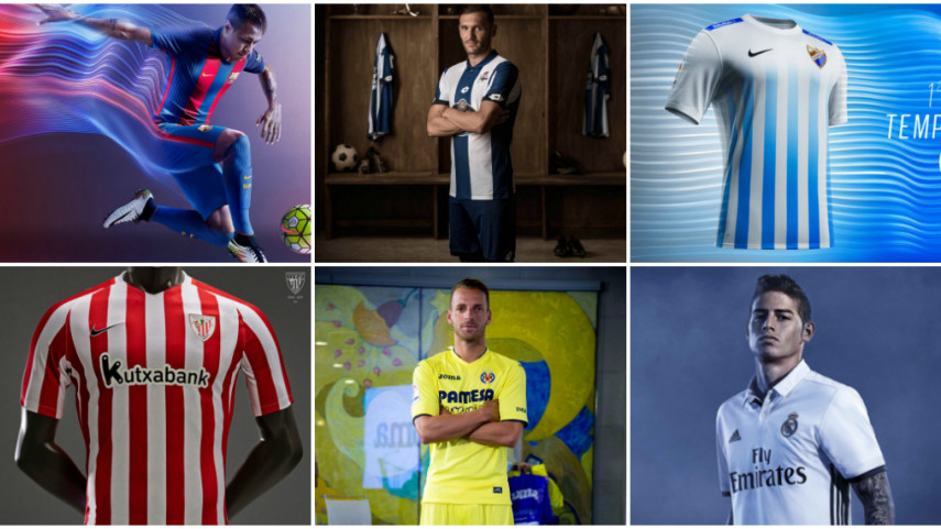 ¿Cuál es tu equipación favorita de LaLiga Santander de esta temporada?