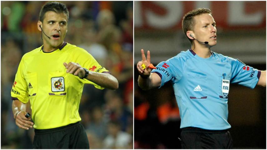 Gil Manzano y Hernández Hernández, los árbitros de la Supercopa de España