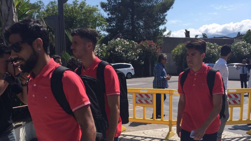 El Atlético de Madrid aterriza en Italia, su segunda parada de LaLiga World