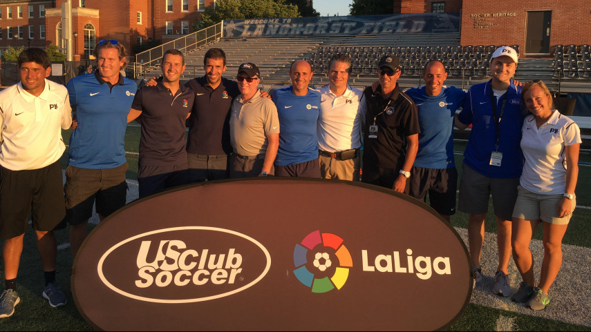 LaLiga sigue formando entrenadores en USA