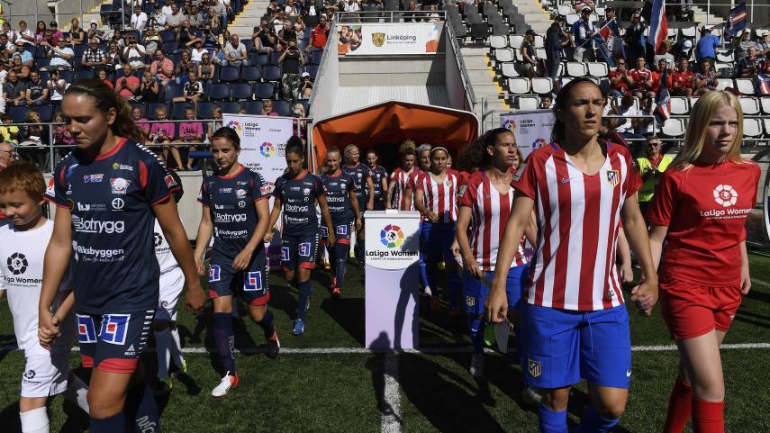 LaLiga y la Elitfotboll Dam trabajarán juntas para potenciar el fútbol femenino en España y Suecia