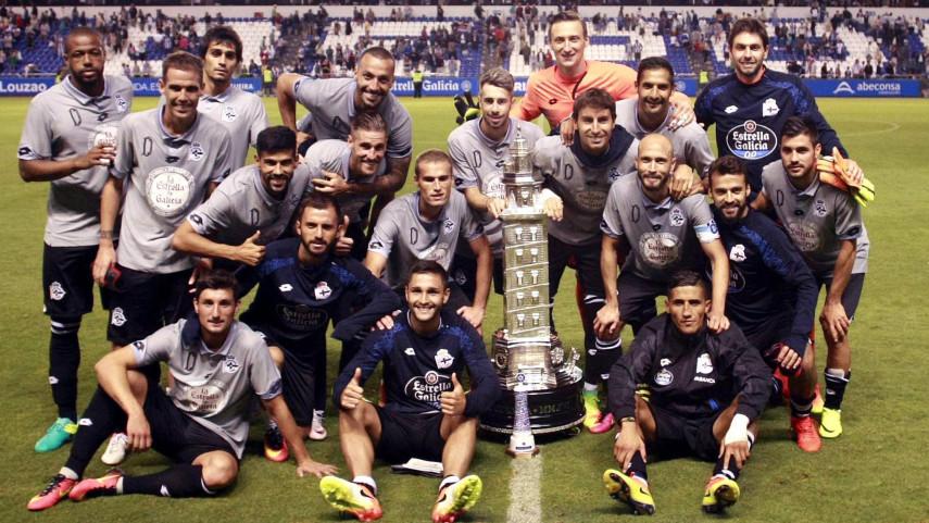 El Deportivo se lleva el Teresa Herrera y Athletic, Málaga y Las Palmas vencen sus partidos