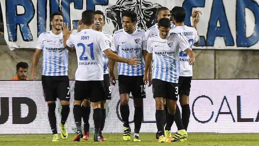 El Málaga, campeón del Trofeo Ramón de Carranza en una jornada llena de fútbol
