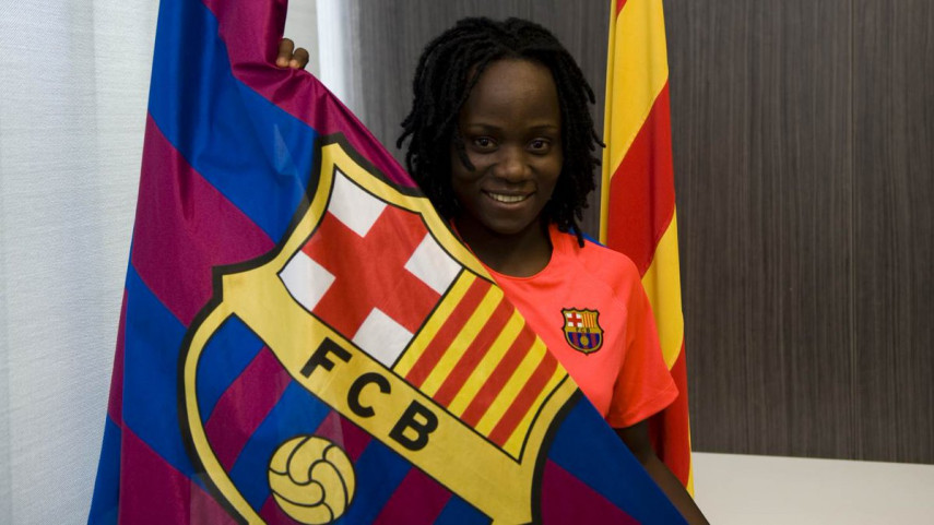 Koko Ange N'Guessan, la perla marfileña del FC Barcelona
