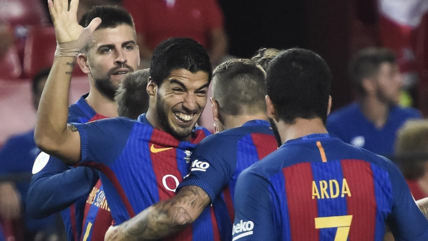 El Barcelona, un paso más cerca de conquistar la Supercopa de España