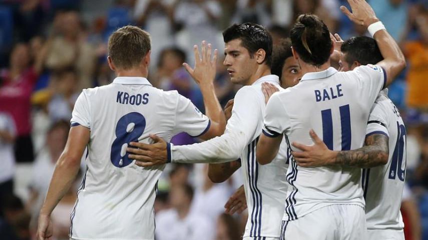El Real Madrid, campeón del Trofeo Santiago Bernabéu