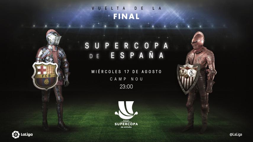 El Camp Nou dictará sentencia en la Supercopa de España