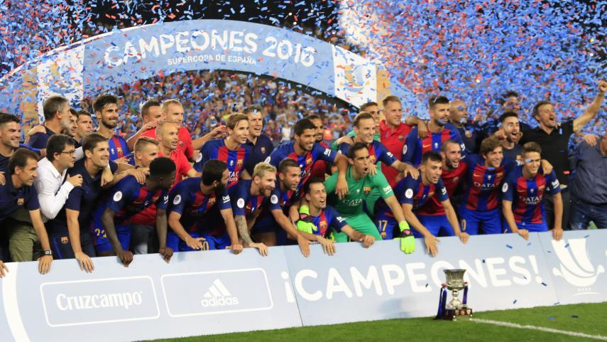 El FC Barcelona se proclama campeón de la Supercopa de España