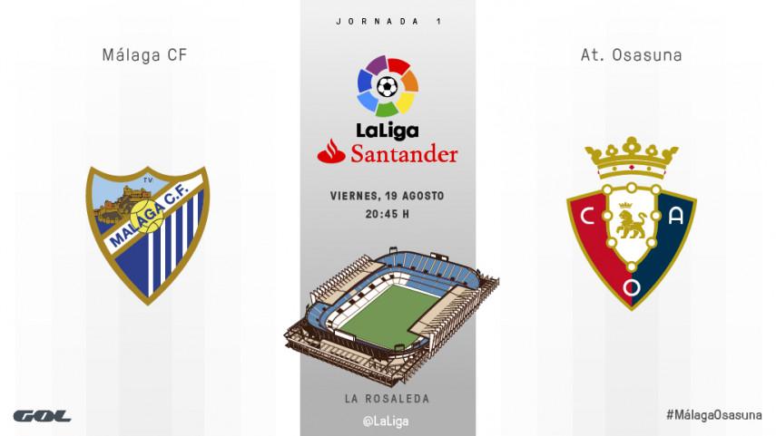 El espectáculo de LaLiga Santander comienza en La Rosaleda
