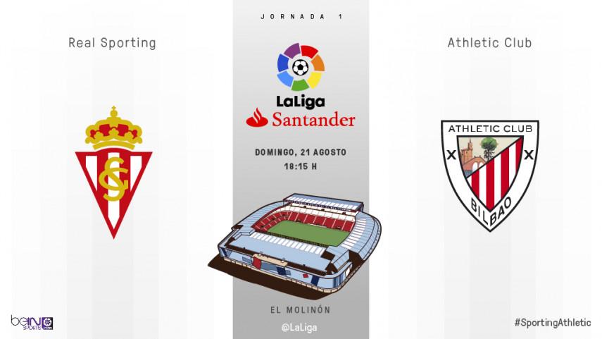 Se abre el telón en El Molinón para Sporting y Athletic