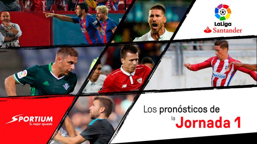Los pronósticos de la jornada 1 de LaLiga Santander
