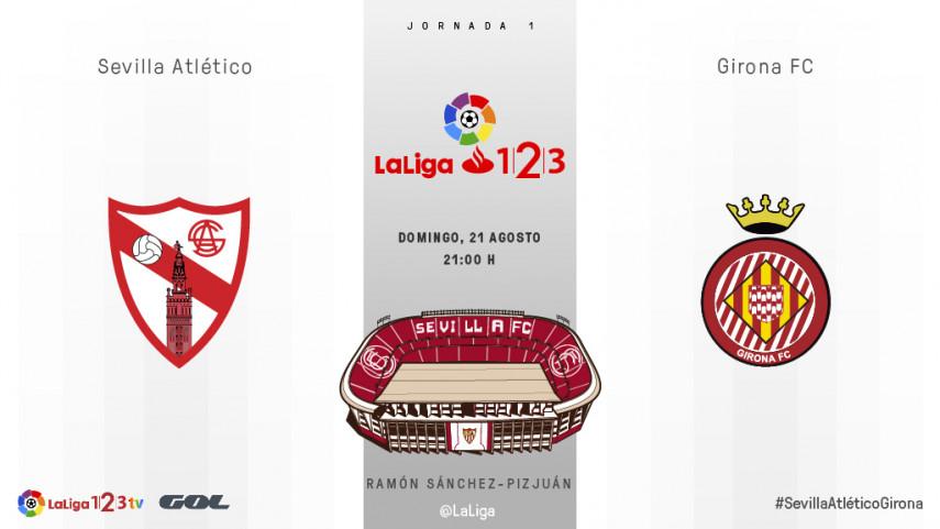 El Sevilla Atlético se estrena a lo grande en LaLiga 1|2|3