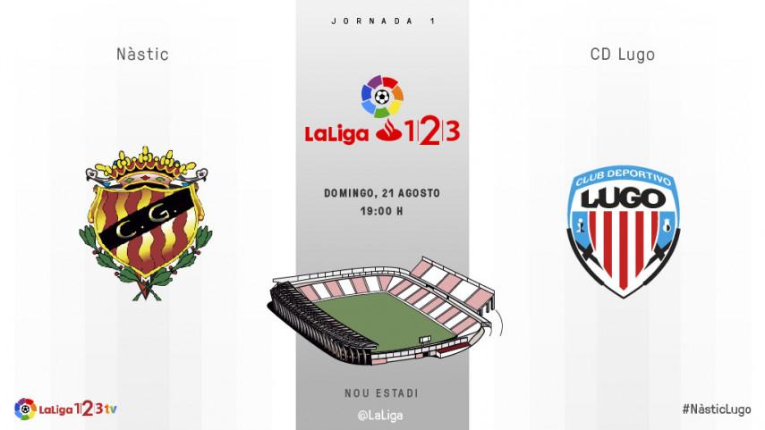 Joselu y el Lugo buscan asaltar el Nou Estadi