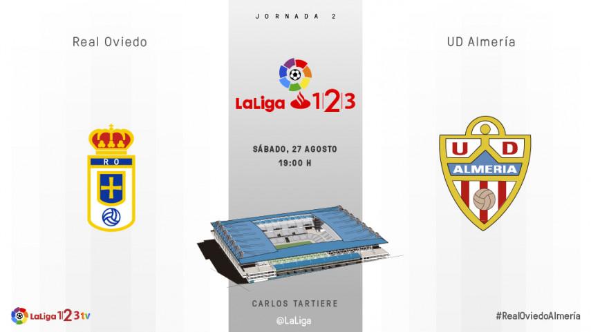 Oviedo y Almería quieren sus primeros tres puntos
