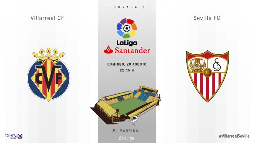 El Villarreal busca reencontrarse frente a un Sevilla lanzado