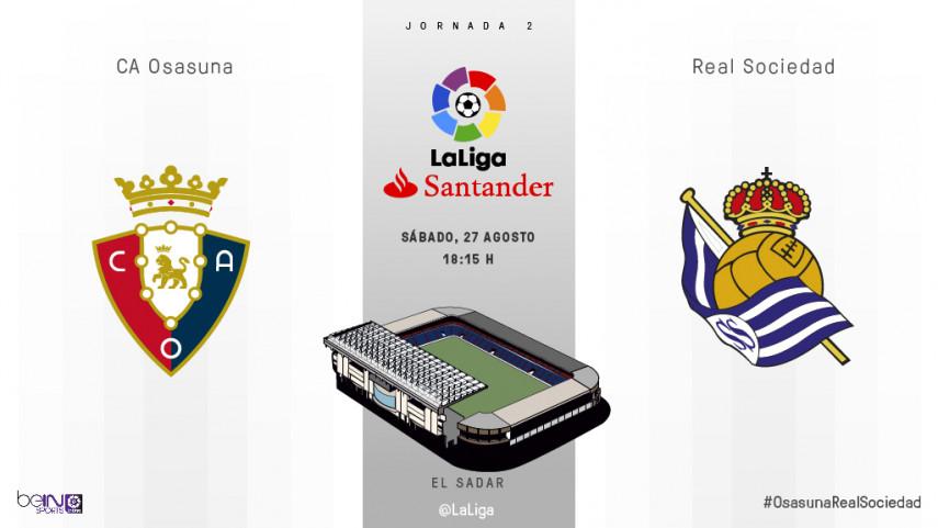 El Sadar se estrena en LaLiga Santander
