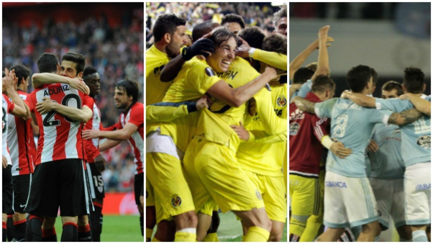 Conoce a los rivales del Villarreal, Athletic y Celta en la Europa League