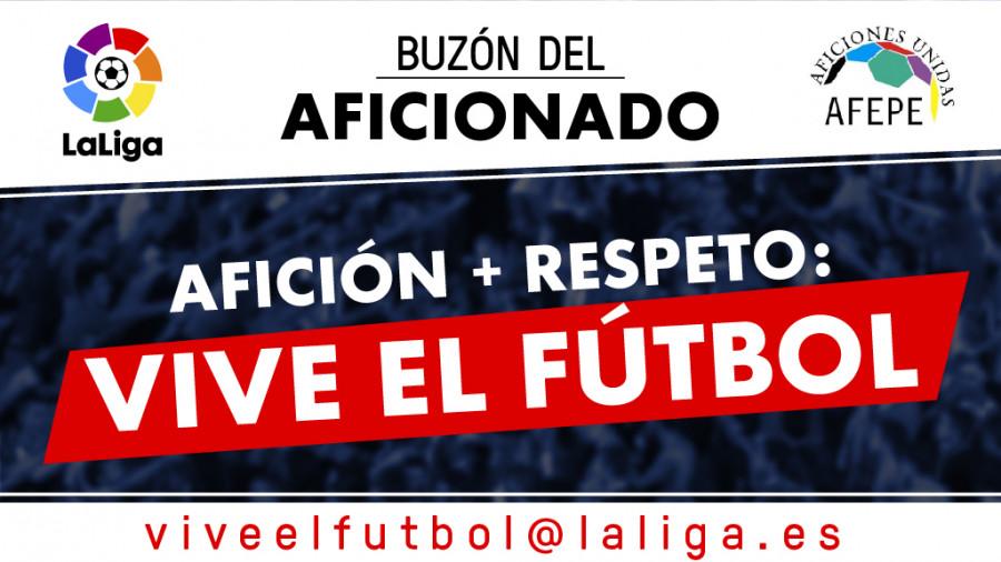 Desde La Banda - Fútbol Navarro (DLB-FN) | Liga de Fútbol Profesional AFICIÓN + RESPETO = VIVE EL FÚTBOL (Buzón del aficionado)