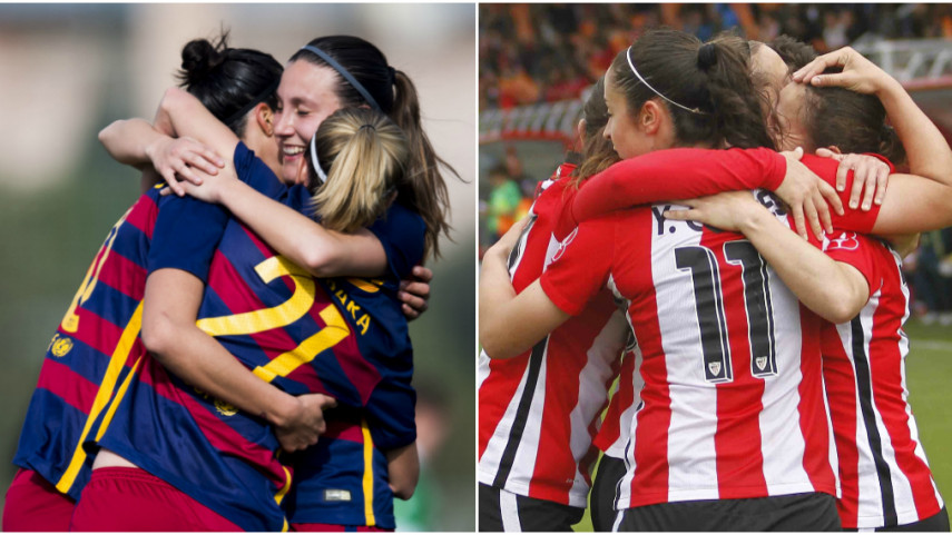 Athletic y FC Barcelona ya conocen a sus rivales en la UEFA Women's Champions League