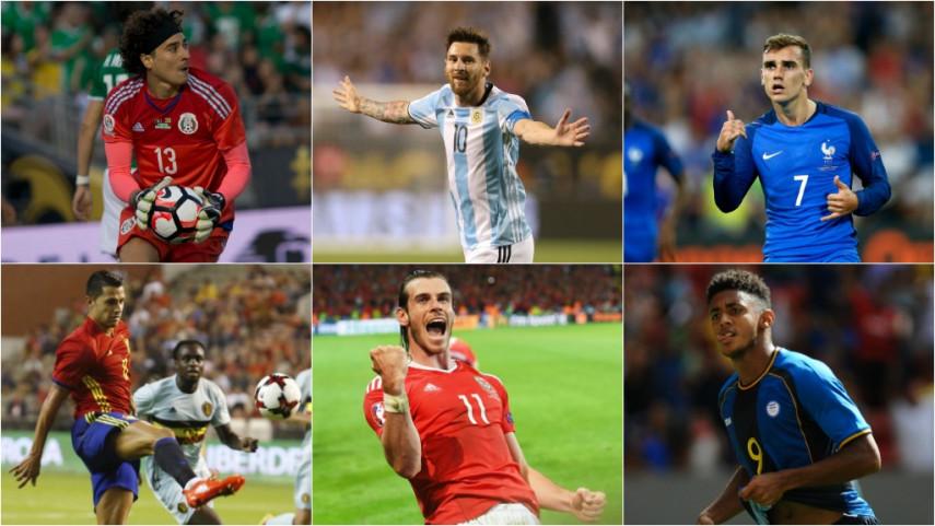 109 jugadores de LaLiga, convocados con sus selecciones absolutas