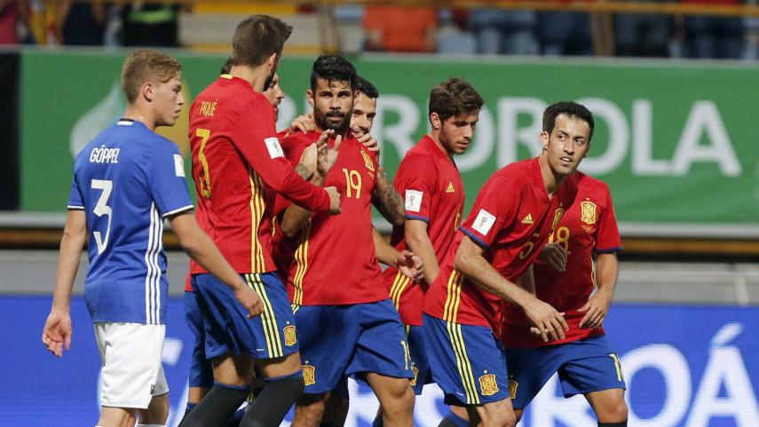 España golea a Liechtenstein y da el primer paso hacia el Mundial