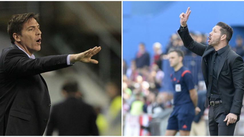 Berizzo vs Simeone: carácter, pasión y resultados